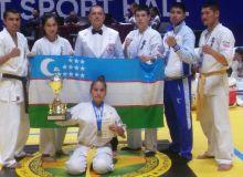 Шахноза Азаматова завоевала серебряную медаль ЧА по каратэ