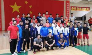 Наши тяжелоатлеты проводят УТС с представителями сборной Китая