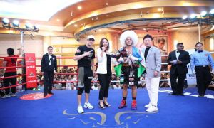 Abdurasul Ismoilov is set to fight in late February against Filipino boxer