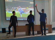 В региональной детско-юношеской футбольной академии Кашкадарьинской области прошёл семинар по судейству