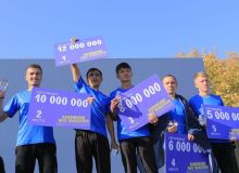 В Самарканде прошёл «Samarkand half marathon»