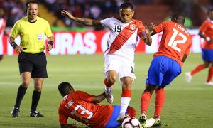 Перу - Коста-Рика 2:3 (видео)