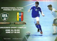 Международные матчи сборной Узбекистана по футзалу.
