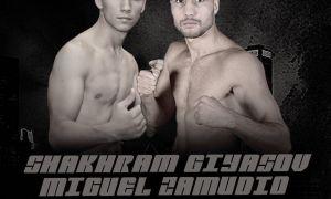 Шахрам Гиясов проведет очередной бой: Соперник и дата известны