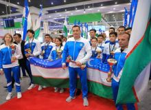 Герои чемпионата мира по самбо вернулись в столицу