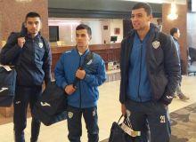 Национальная сборная Узбекистана прибыла в Уругвай