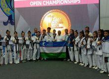 Успешное выступление таэквондистов Узбекистана в рейтинговом турнире