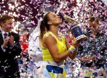 Арина Соболенко выиграла турнир в Дохе, победив Петру Квитову в финале