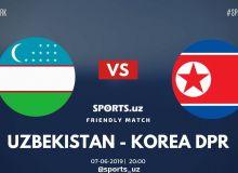 Национальная сборная Узбекистана обыграла с крупным счётом КНДР