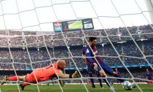 """""""Barselona"""" o'z uyida """"Eybar"""" darvozasiga javobsiz 5 ta gol urdi. Messidan poker (video)"""
