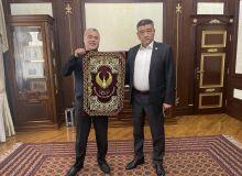 Председатель НОК встретился с руководителем федерации профессионального бокса Узбекистана
