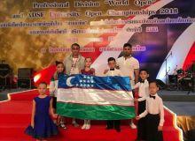 Представители Узбекистана завоевали первое место в международном турнире по спортивным танцам