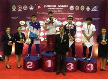 Молодые борцы завоевали 12 медалей на чемпионате Азии