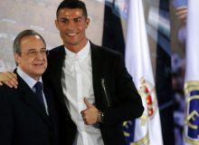 """Роналду """"Сантьяго Бернабеу""""га борган. У """"Реал""""га қайтмоқчи!"""