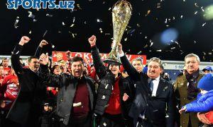 Фоторепортаж: «Локомотив» в третий раз в своей истории завоевал чемпионский титул страны