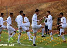 Фотообзор второго дня тренировочного процесса национальной сборной Узбекистана