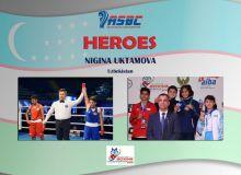 ASBC Heroes – Uzbekistan's promising female boxer Nigina Uktamova hopes to conquer the youth age group