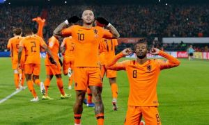 Голландия - Франция 2:0 (видео)