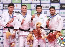 Uzbek judoka Khikmatillokh Turaev awarded a bronze medal in Budapest
