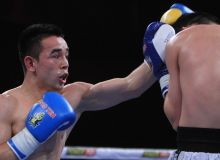 Why did Hasanboy Dusmatov's opponents change?