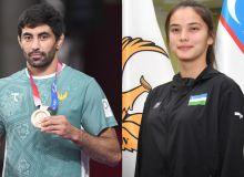 Tokyo Olympics medallistBekzod Abdurahmanov gets married to Uzbekistan flag-bearer Nigora Tursunkulova