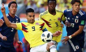 Япония - Колумбия 0:1 (видео)