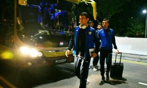 Uzbekistan arrive in Singapore for their Asian Qualifiers tie