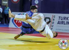 Uzbekistan's Kemran Nurillaev awarded a silver medal at the 2019 Antalya Grand Prix