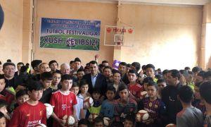 В Джизаке прошёл футбольный фестиваль