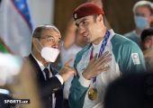 Olimpiada kutib olish