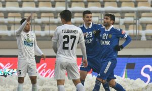 FC AGMK stun FC Andijan with a shocking victory in Almalyk