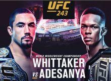 UFC 243 турнирида кимлар жанг қилади?