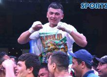 """Азизбек Абдуғофуров """"WBC Cilver"""" камари соҳиби (фото)"""