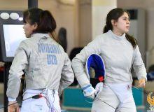 Дайибекова, Плиего и Обвинцева борются за участие в лицензионном турнире по фехтованию