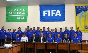 В Ташкенте стартовал курс ФИФА по элитному юношескому футболу