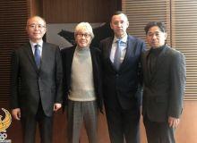Успешные переговоры с международным фондом по развитию таэквондо