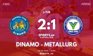 Match Highlights. FC Dinamo 2-1 FC Metallurg