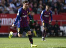 """Ла Лига. Мессининг 3 та голи """"Барселона""""га иродали ғалабани тақдим этди"""