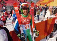 Олимпиада: Камиль Тухтаев выступил в гигантском слаломе