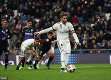 Рамос 16 йилдан буён Ла Лигада гол урмоқда
