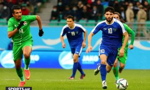 Match Highlights. Uzbekistan 0-1 Iraq