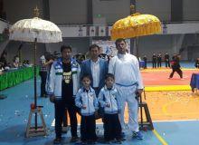 Uzbekistan's athletes participate at the Eurasian Pencak Silat Championships