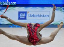 Artistic Gymnastics World Cup takes place in Tashkent