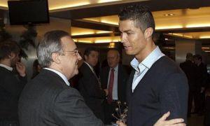 "Роналду ""Реал"" президенти билан нега учрашди?"