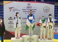 Феруза Садыкова — чемпионка Азии! Ещё 4 медали в копилке сборной Узбекистана по таэквондо