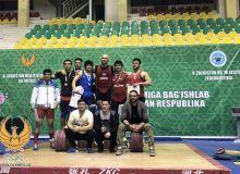 В Чирчике прошли соревнования по тяжелой атлетике на призы НОК