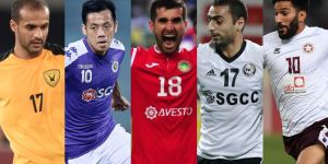 AFC Cup All-time XI: Wide midfielders