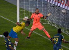 Америка кубоги. Сўнгги дақиқада Каземир томонидан киритилган гол Бразилияга Колумбия устидан ғалаба келтирди