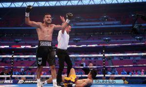 KO Highlights. Shakhram Giyasov stops Nicaraguan Julio Laguna