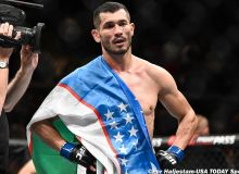 Uzbekistan's Makhmud Muradov earns 3rd UFC win, knocks out Andrew Sanchez at 'UFC 257' in UAE